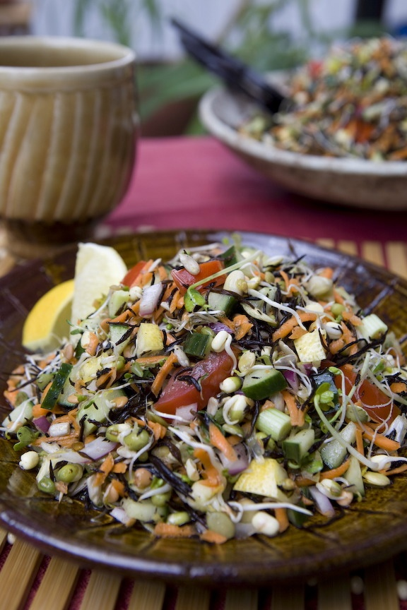 Lively Sprout Sea-Veg Salad, pg. 182 Real-Life Vegan