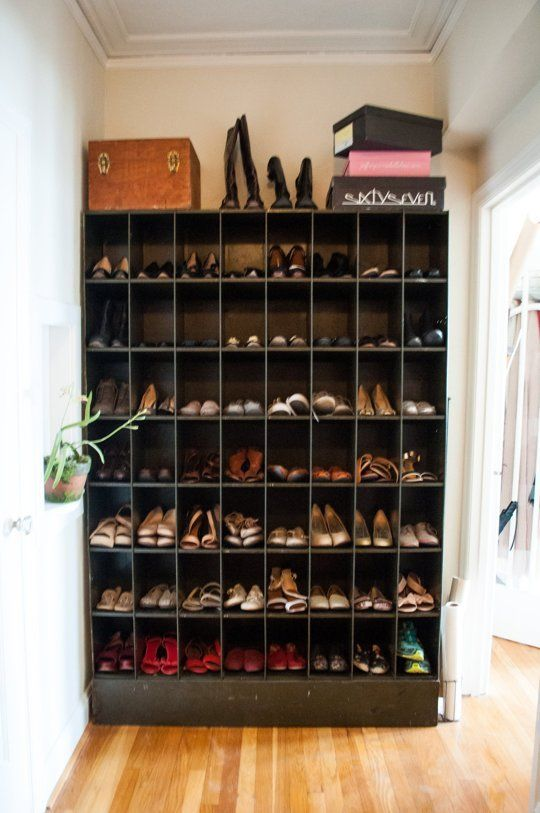 174 best shoe storage & collections images on Pinterest | Shoe ...