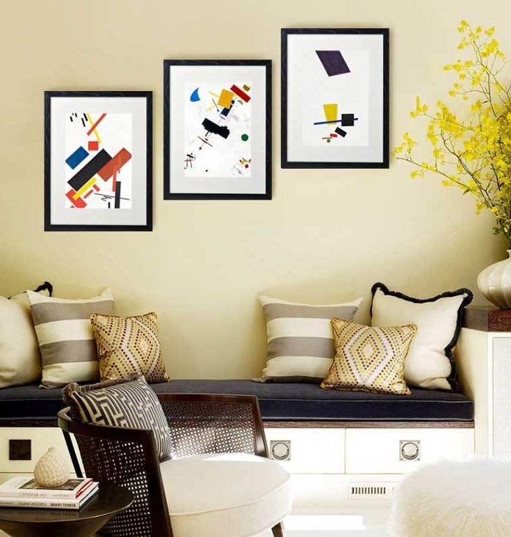 Modern Art Framing Ideas. Excellent A Unique Way To Custom Frame ...