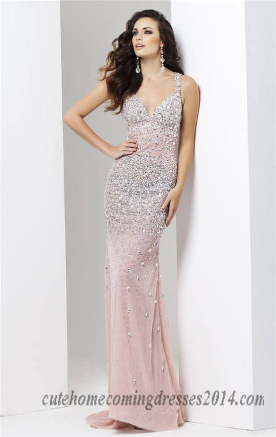 19 best long pink prom dresses 2015 images on Pinterest | Prom ...