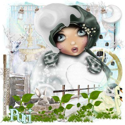 "MI RINCÓN GÓTICO: CT for Daniela E Designs, ""Ice Qeen"""