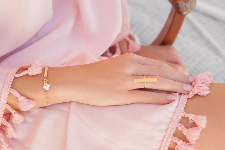 #mothersday #bemylilou #bracelet #ring #jewelry #clover