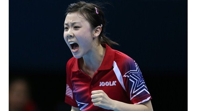 Ariel Hsing : Table Tennis