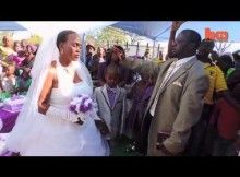 Second wedding for 9 years old boy