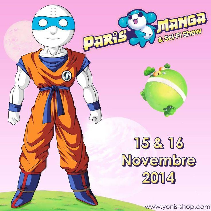 Pour le salon Paris Manga & Sci-Fi Show, Super Yonis reste un véritable fan et a sorti son superbe cosplay. Yonis-Shop.com