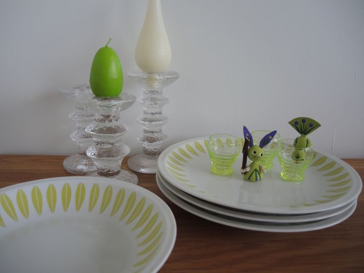 Lime and lilacLyngby, Festivo and Holline