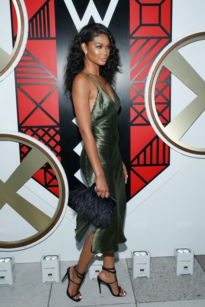 Chanel Iman Photos Photos - All Aboard! W Hotels Toasts the Upcoming Opening of W Amsterdam with 'Captains' - Zimbio