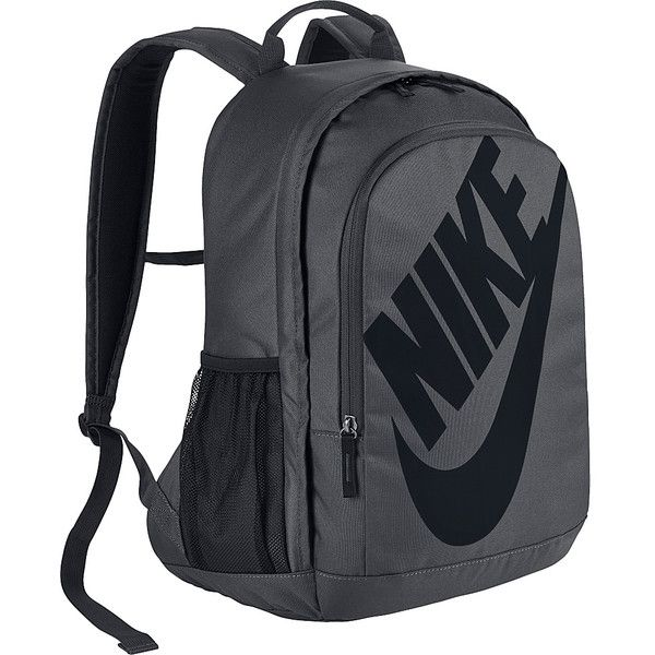 Nike Hayward Futura 2.0 Backpack ($55) ❤ liked on Polyvore featuring bags, backpacks, grey, nike, day pack backpack, nike bag, grey bag and padded backpack