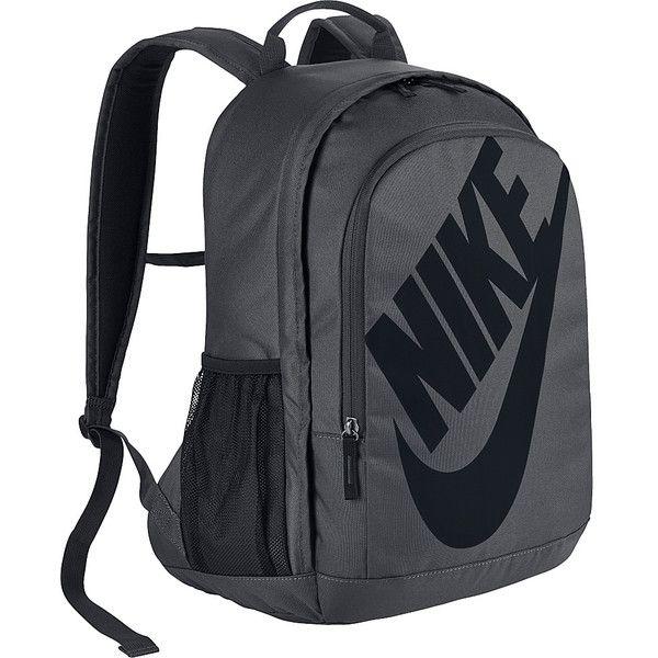 Nike Hayward Futura 2.0 Backpack ($55) ❤ liked on Polyvore featuring bags, backpacks, grey, nike, day pack backpack, nike bag, grey bag and padded backpack