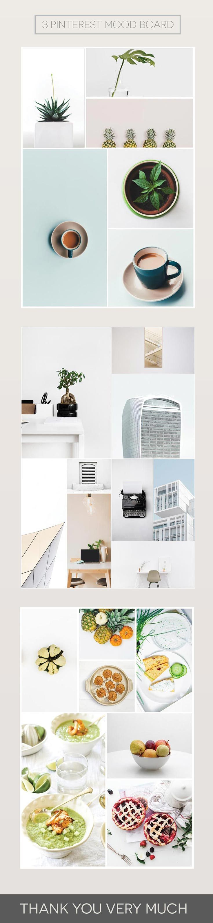 Poster design golden ratio - Free Pinterest Mood Board Is A Freebie Pack Containing 3 Mood Board Templates Via