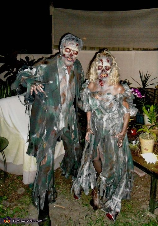 Zombies - Halloween Costume Contest