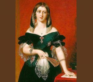 Шикарные женские костюмы. Королева Виктория.