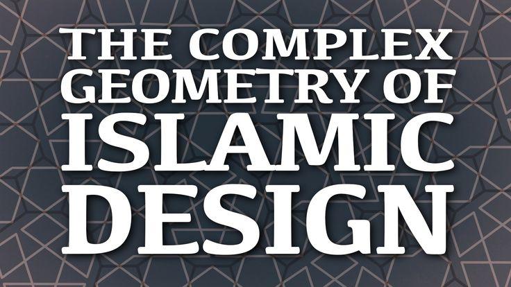 The complex geometry of Islamic design