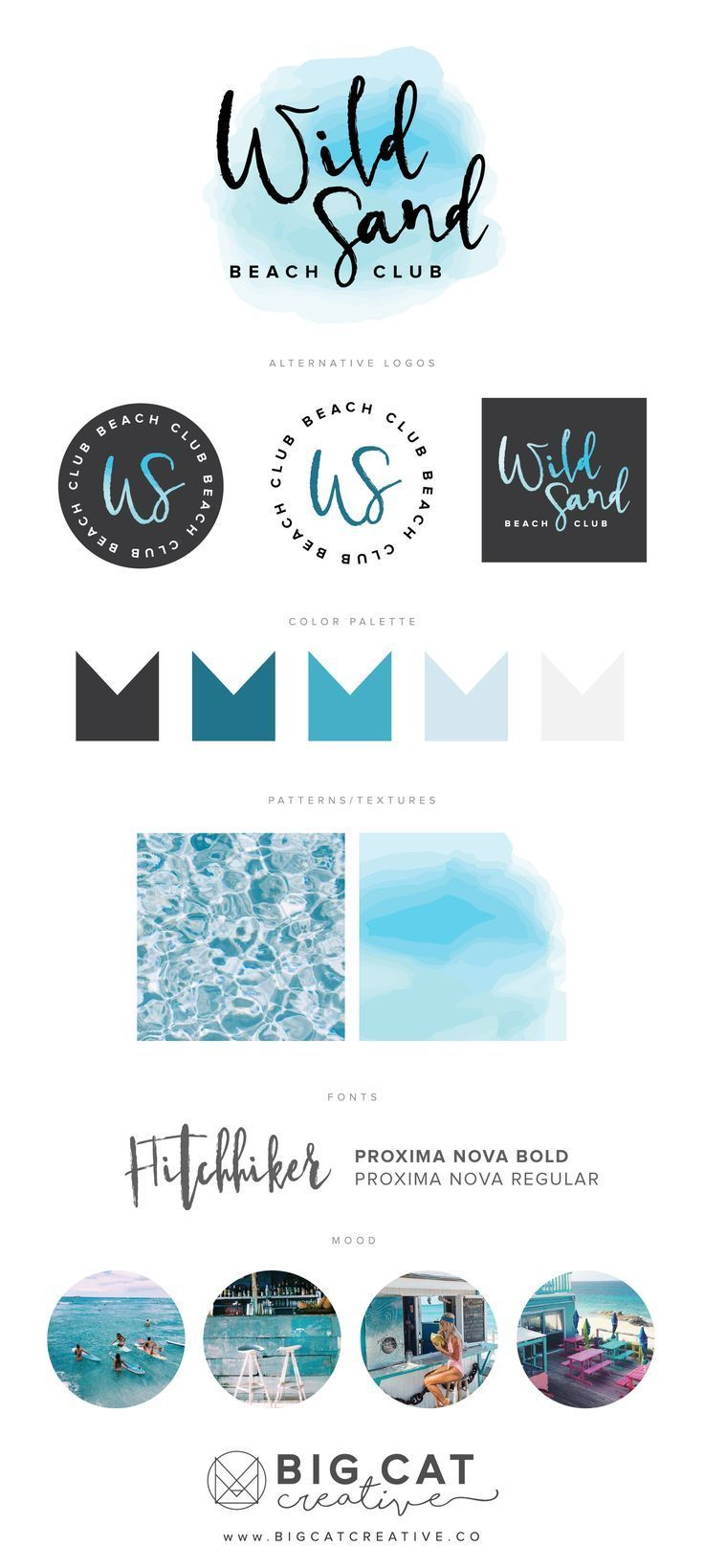 Branding Identity for Wild Sand Beach Club get your own at www.bigcatcreative.co | Big Cat Creative | Branding Style Board | Business Branding | Personal Branding | Small Business Branding | Branding Style Board | Brand Design Identity | Creative Brand Design | Small Business Design | Squarespace Website Design | Branding and Website Design for Small Business Owners | Beach Brand Design | Beach Bar Logo Design | Tropical Design |