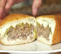 "Korzo's ""The Slav"" Burger (Deep Fried Hamburger) Recipe Video by BallisticBBQ   ifood.tv"