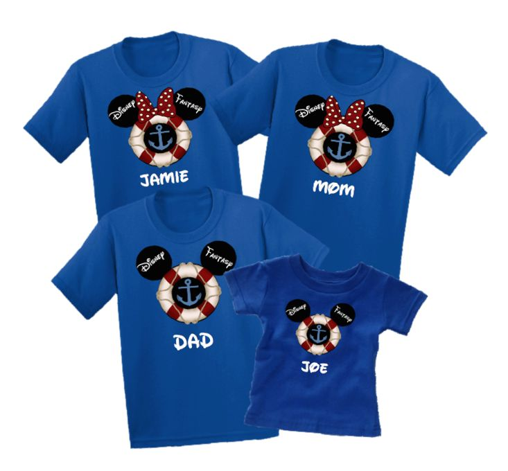 Disney family cruise vacation family t shirts disney for Custom t shirts family vacation