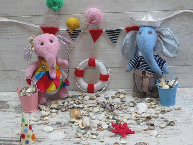 #ручнаяработа #handmade На большом воздушном шаре....Слоняшки ищут домики!