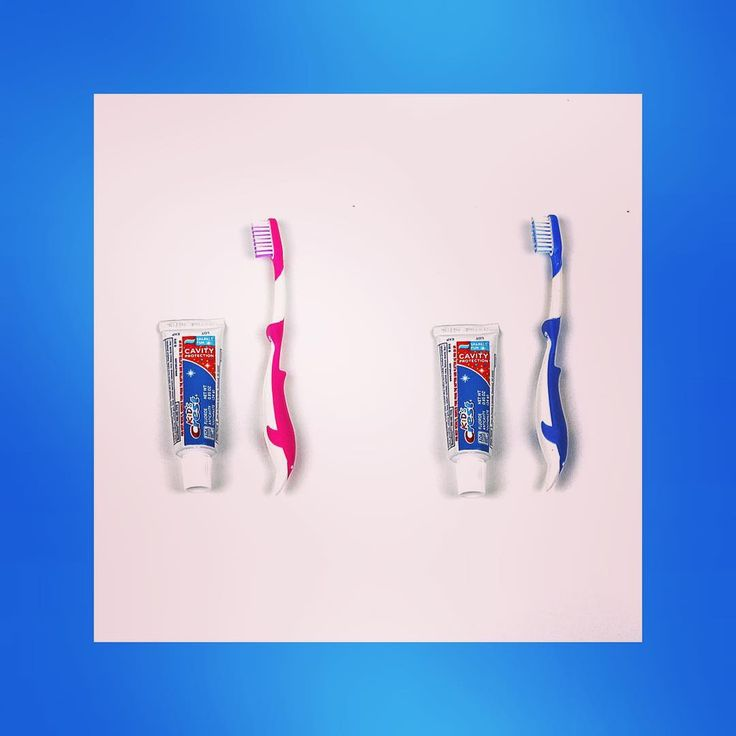 "In the ""Just in Case"" parent pack, for those traveling times - a toothbrush is always required!"