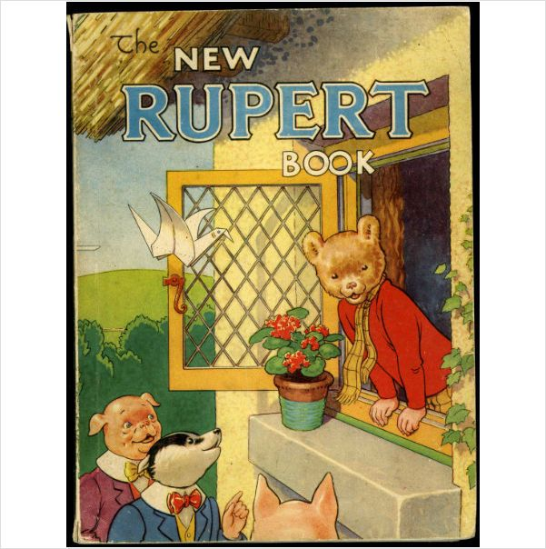 1946 Rupert Bear Annual - Daily Express Rare Original on eBid United Kingdom