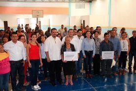 Ahuacatlán de Guadalupe, Pinal de Amoles, Querétaro a 31 de mayo de 2017, la Alcaldesa Gloria Inés Rendón García, en...