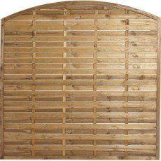 Panneau bois plein Mateo, l.180 cm x h.180 cm, marron