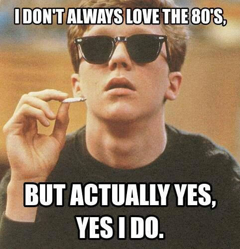 I love me some eighties.