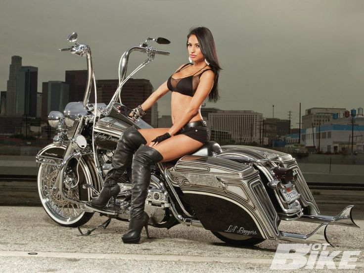 Nude girls on harley davidson motorcycles, angelina jolie pusssy