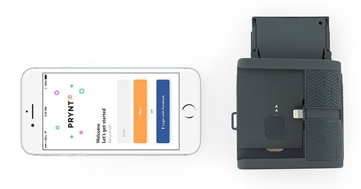 Smartphone Instant Photo Printer