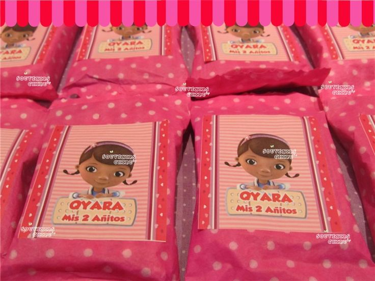 Candy bar Doctora Juguetes,
