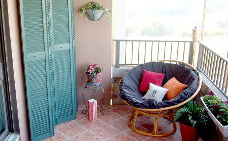 decoração de varandas pequenas 21
