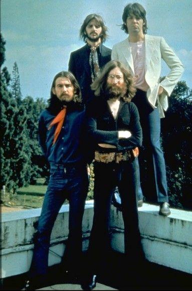 The Beatles' final photo shoot, August 22, 1969.