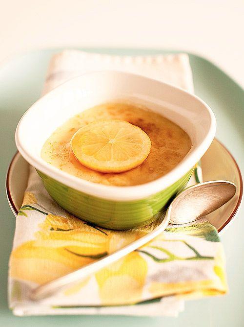 Honey Lemon Pots De Creme Recipe — Dishmaps