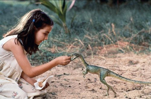 If you feed a compsognathus a cookie... (Jurrasic Park The Lost World)