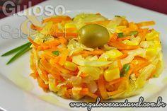 Salada de Repolho Refogado » Receitas Saudáveis, Saladas » Guloso e Saudável