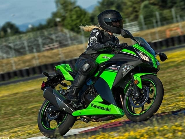 2013 Kawasaki Ninja® 300. my uncle has one in sunburst orange except its a Kawasaki Ninja zx-10r... i have no clue what it means i just thought this picture was cool...