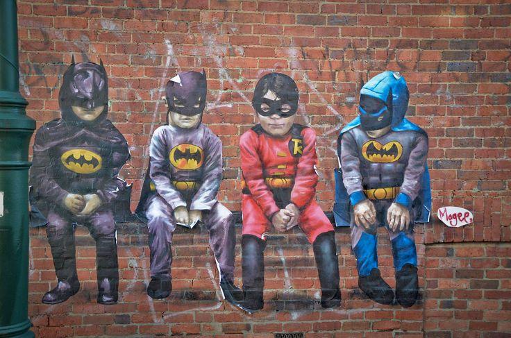 Kurt Wenner Batman | En İyi 3d Sokak Sanatı Örnekleri - onedio.com