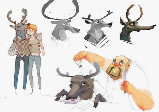 Meet Buck animation concept art
