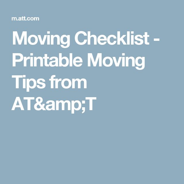 The  Best Moving Checklist Printable Ideas On
