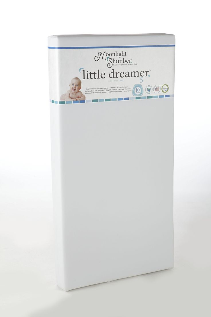 What is best crib mattress for baby - Planning To Buy Our Friend S Baby S Crib Next Summer When She Outgrows It Moonlight Slumber Little Dreamer Dual Firmness All Foam Crib Mattress