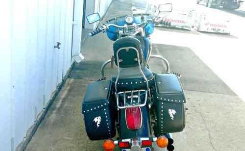 Used 2006 Honda Shadow Sabre Motorcycles For Sale in Alabama,AL. 2006 Honda Shadow Sabre, Don't miss this 2006 Honda Shadow Sabre! This bike looks and runs great!! We can't say enough about the accessories... we'll try to list them all for you: Vance & Hines exhaust, Memphis Shades windshield, hard saddlebags, passenger backrest, passenger floor boards, Mustang seat, luggage rack, highway bars, highway pegs, throttle lock, ISO grips, 12 volt outlet on bars, driving lights. WOW! Located at…