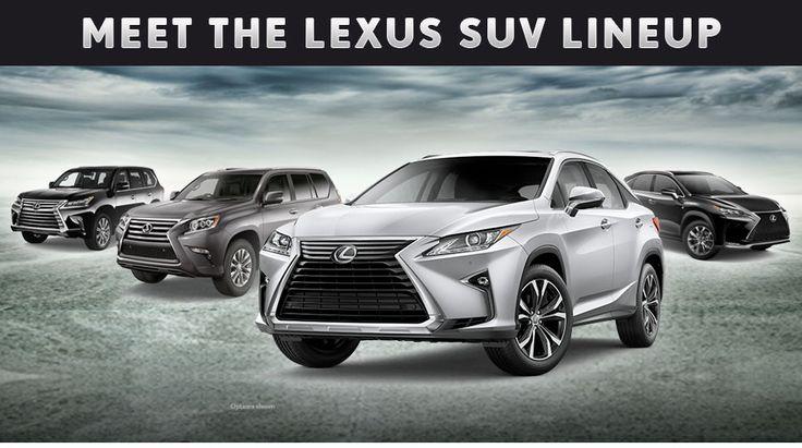 Lexus SUV Model-Line Up