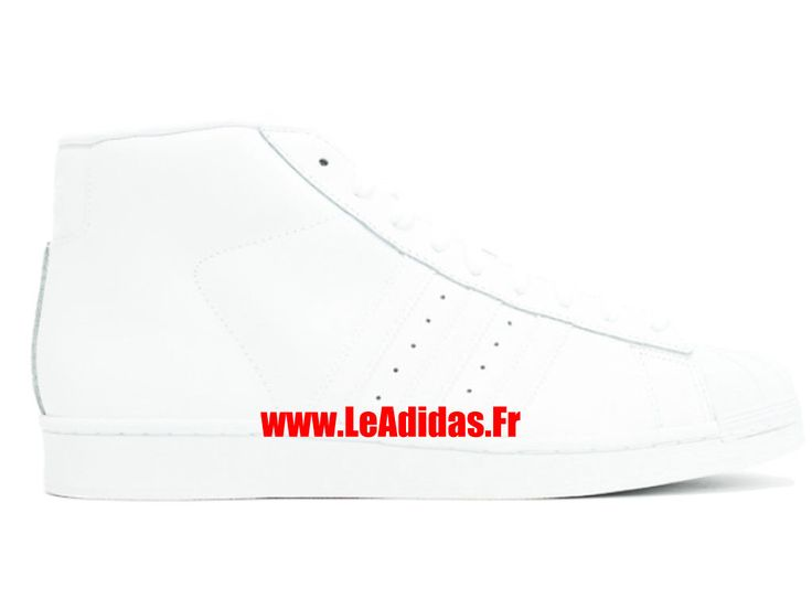 Adidas Pro Model - Chaussures Adidas Running Pas Cher Pour Homme/Femme Blanc aq5217