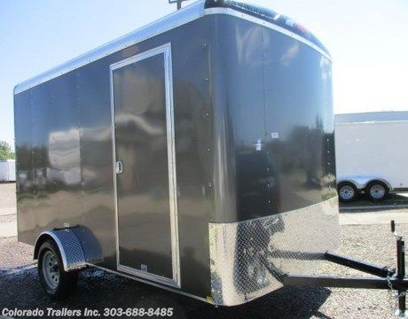 #13980 - 2017 Mirage 7x12 Enclosed Cargo Trailer  for sale in Castle Rock CO