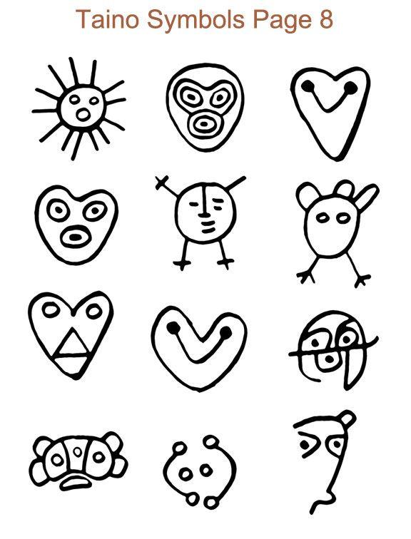Ancient Taino Symbols