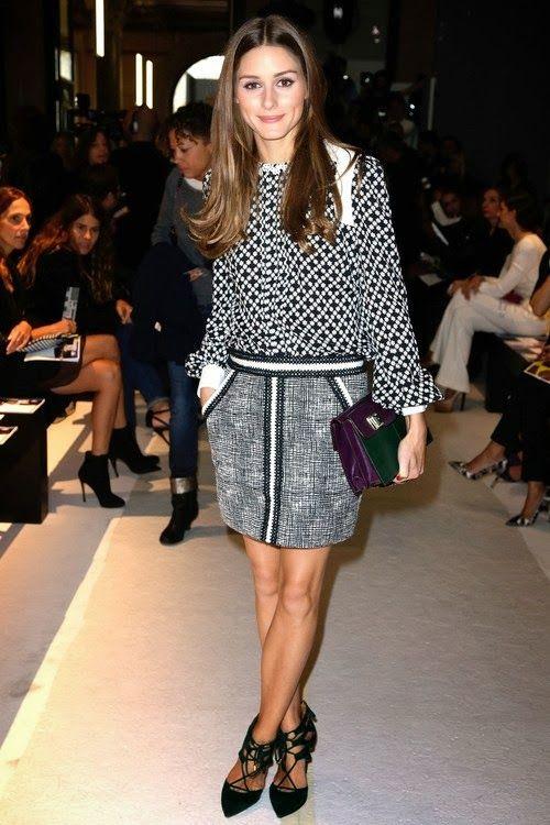 Paris Fashion Week : Olivia Palermo at Andrew GN