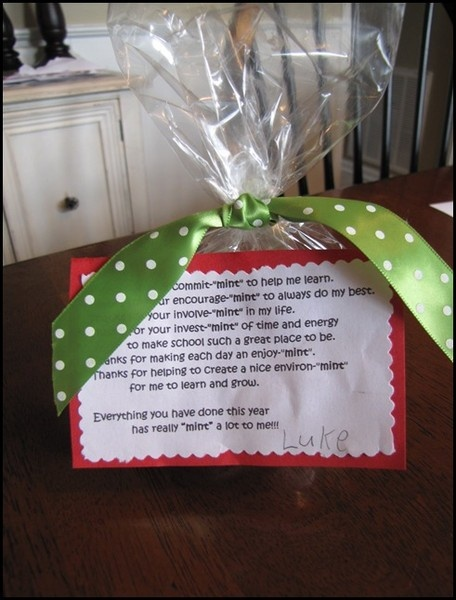 Teacher Christmas Gifts for primary