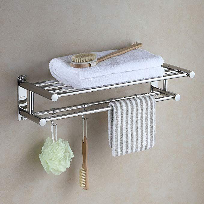 Eridanus Edelstahl Handtuchstange Handtuch Halter Badezimmer Ablage In 2020 Badezimmer Ablage Handtuchhalter Ideen Handtuchhalter Badezimmer