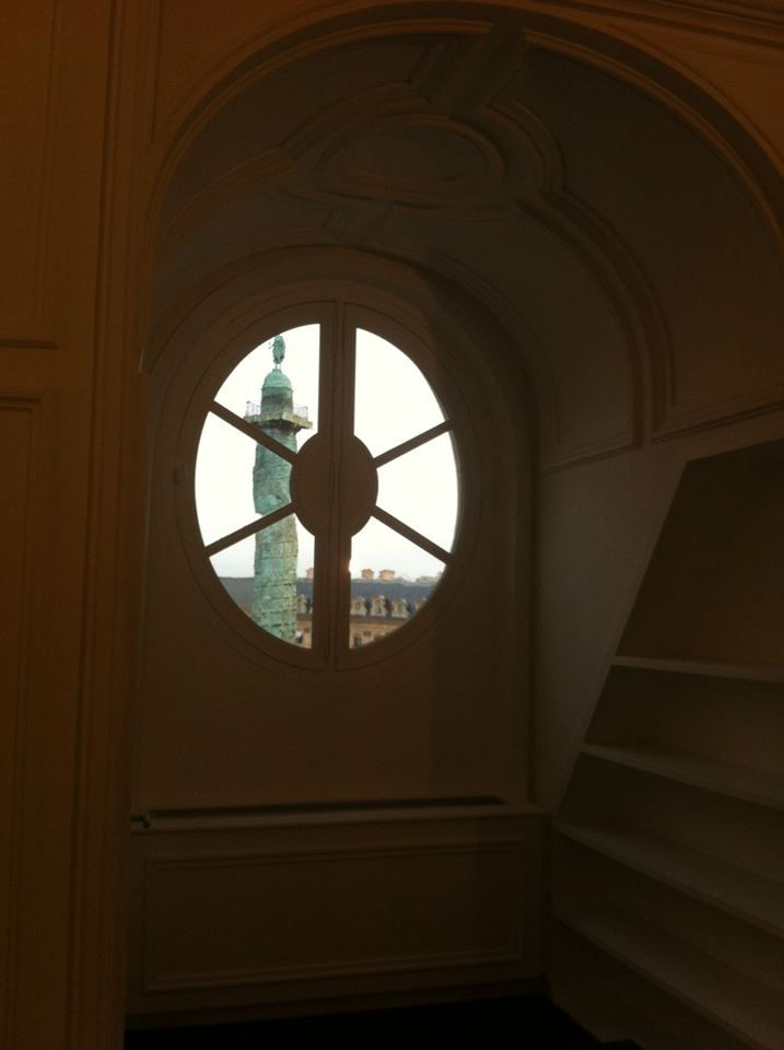 La vista da uno dei palazzi