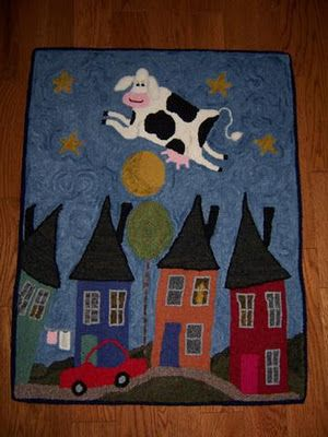 shelly atkinson Love the cow jumping over the moon!