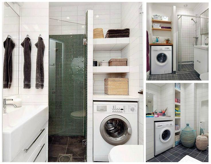 Las 25 mejores ideas sobre mueble para lavadora en - Lavadora en el bano ...